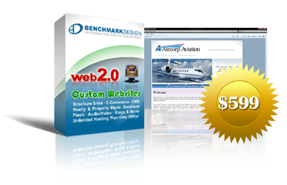 5-Page Brochure Site Starting at $599