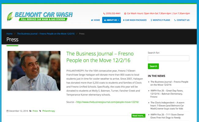 Belmont Car Wash - Blog Post