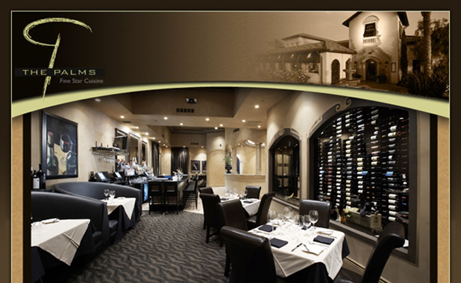 The Palms Restaurant - Home Page