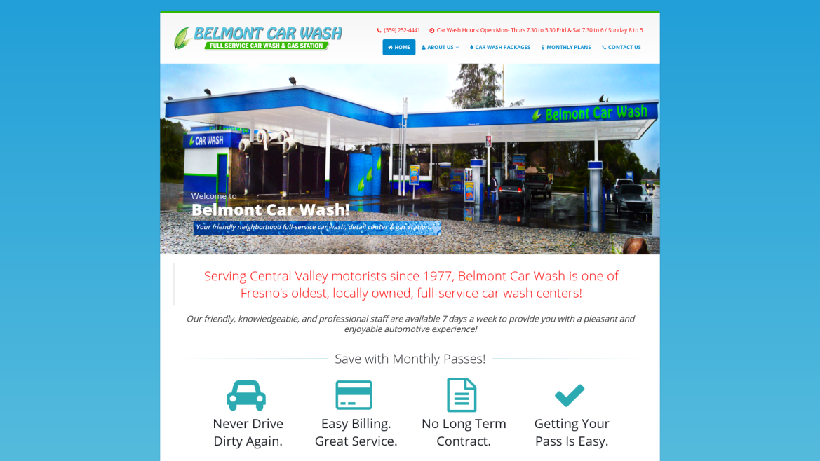 Belmont Car Wash - Home Page