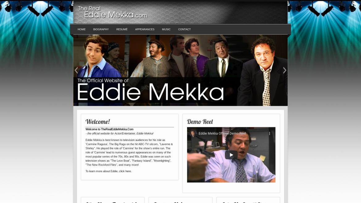 TheRealEddieMekka.Com - Home Page