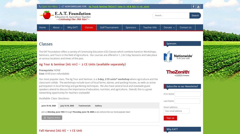 E.A.T. Foundation Classes