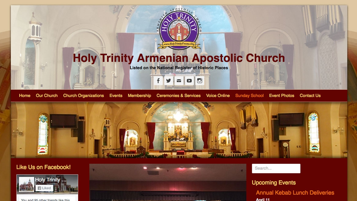Holyt Trinity Home Page