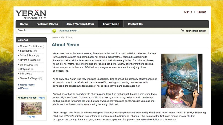 Yeran Art - About