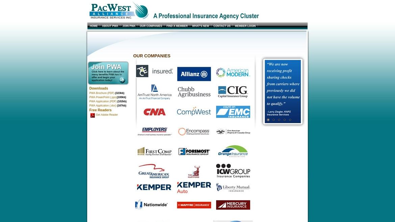 PacWestAlliance.Com - Companies