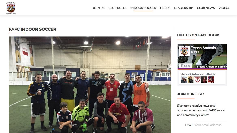 Fresno Armenian Futbol Club - Info Page 2