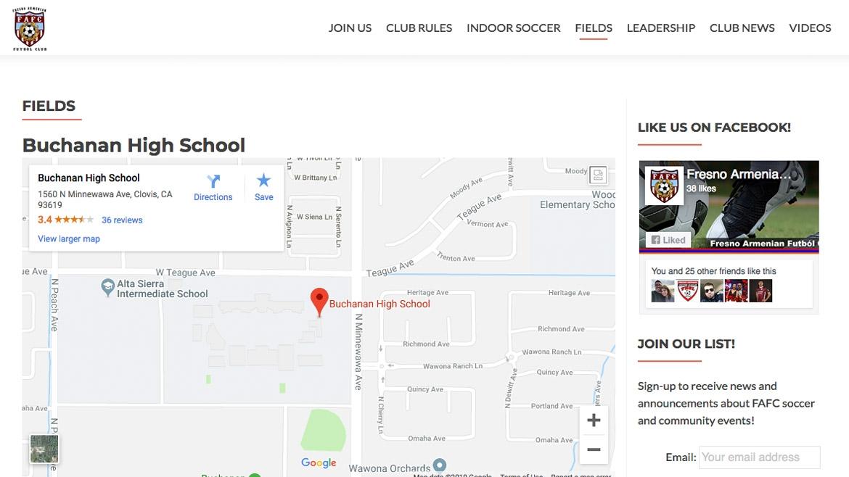 Fresno Armenian Futbol Club - Info Page 3