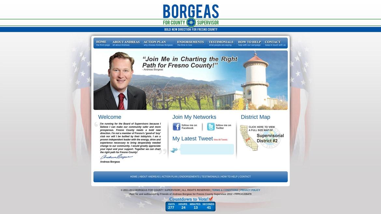 BorgeasForSupervisor.Com - Home