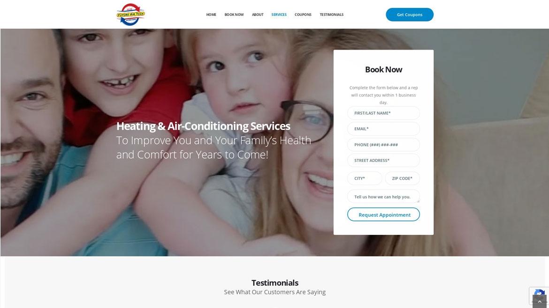 Future Air Tech - Booking Form