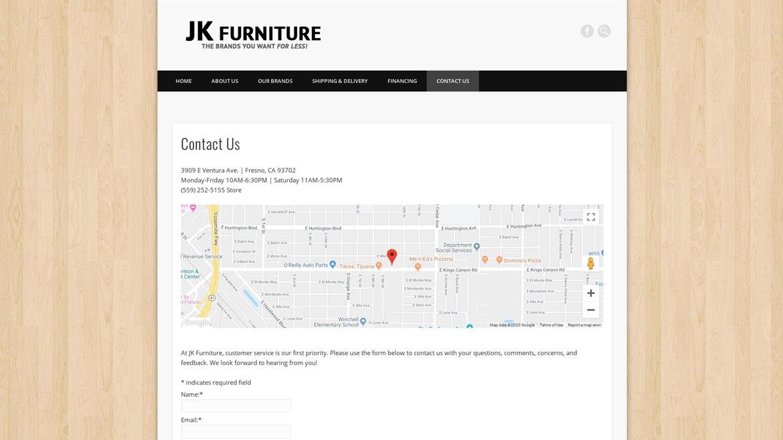 JKDiscountFurniture.Com - Contact Us