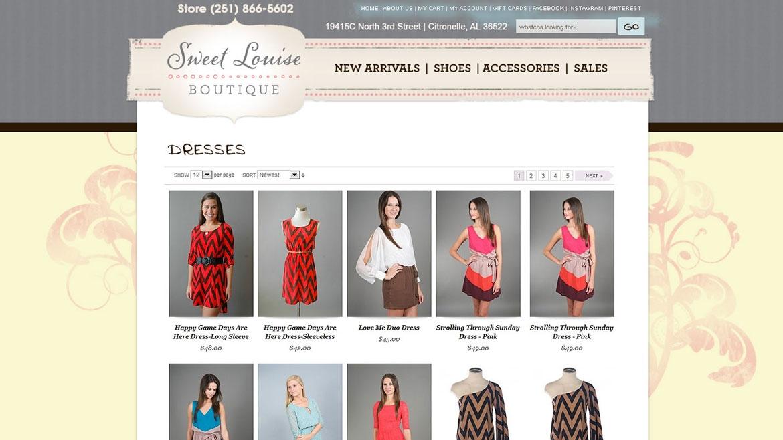 SweetLouiseBoutique.Com - Shop