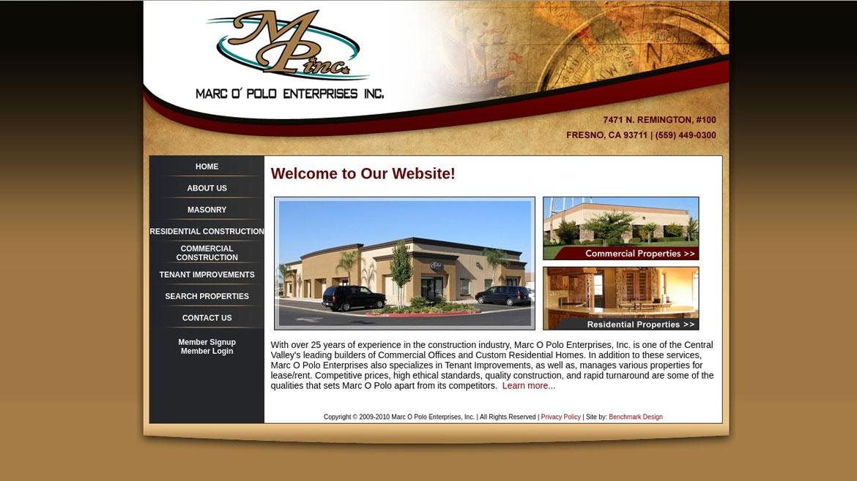 MarcOPoloEnt.Com - Home Page