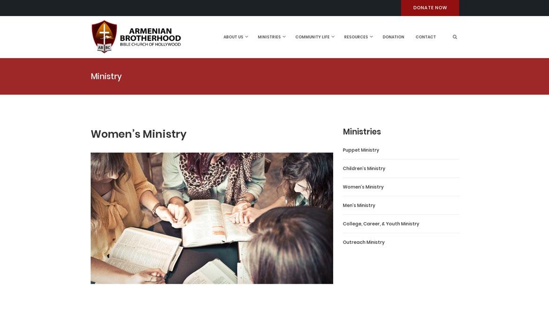 ABBCHollywood.org - Women's Ministries