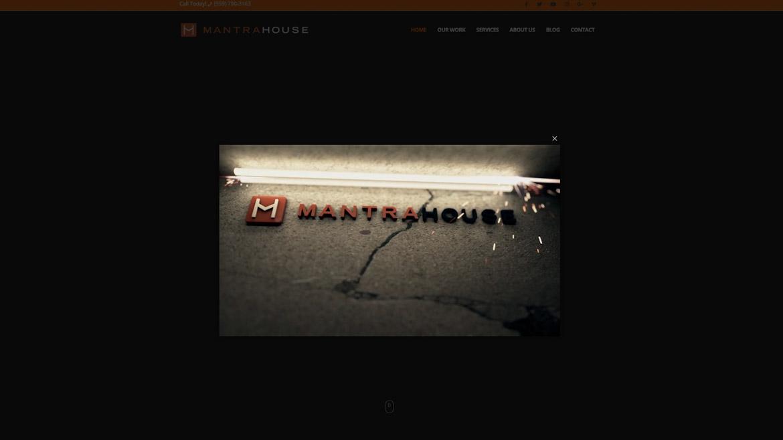 MantraHouse - Homepage Reel